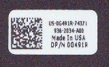 2D Barcode Polyester Label (160 x 98)