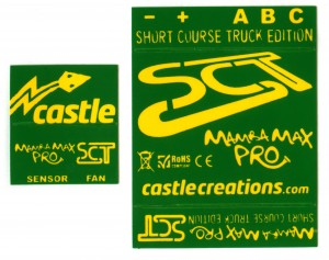 Hot Stamp/Thermal Transfer Branding Label set.