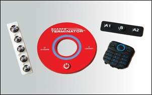 Many options are available from colors of rubber to surfaces of keypads