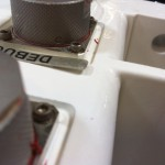 Bent aluminum labels may not adhere correctly to surfaces