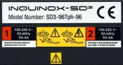 Set of 3 polyester labels.  Thin polyester is an extremely durable label substrate that can can withstand extended use.